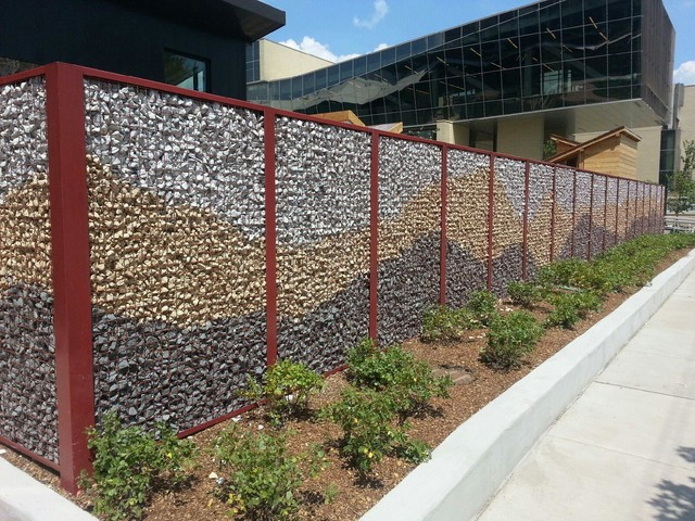 ECO ROCK Wall Systems Industrial Home Fencing And