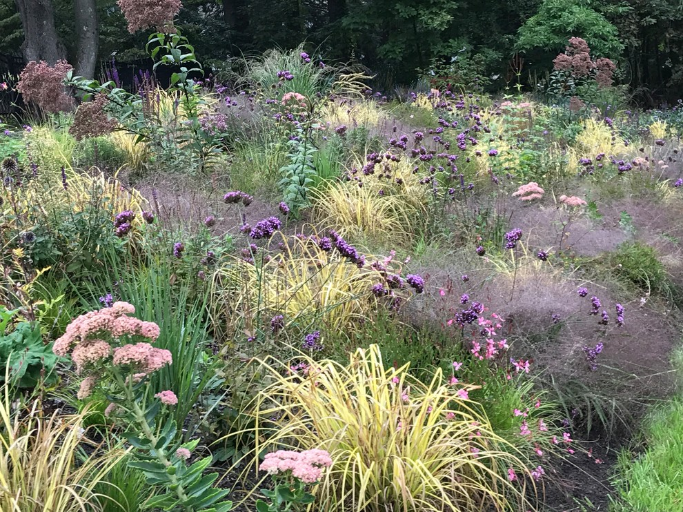 Design ideas for an eclectic landscaping in Boston.