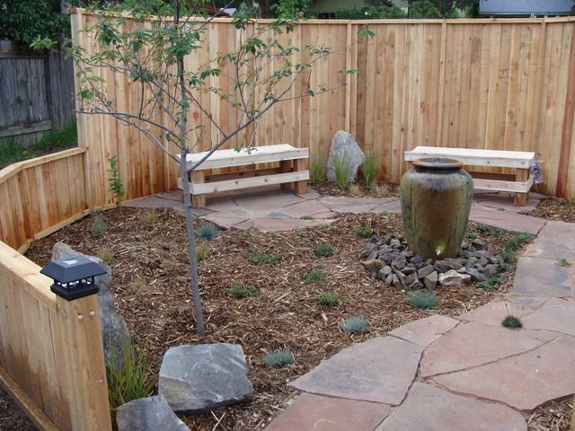 Elegant Meditation Garden Traditional Landscape