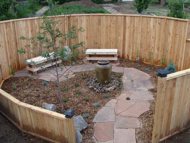 Meditation Garden Traditional Landscape Denver By