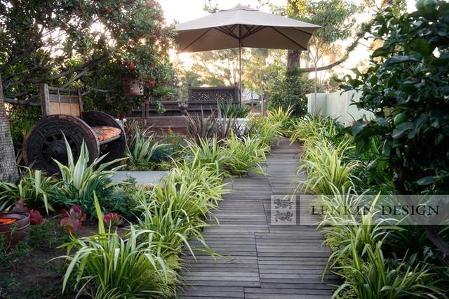 Meditation Garden Contemporary Landscape Los Angeles By Lenkin Design Inc And