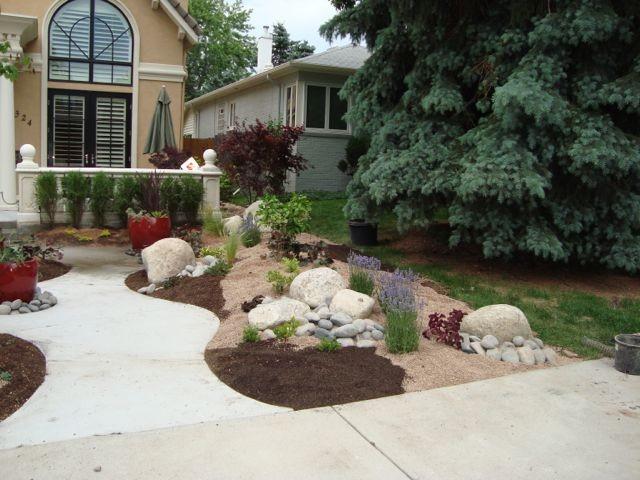 Landscaping Mulch Denver : Mediterranean landscape denver by b gardening design