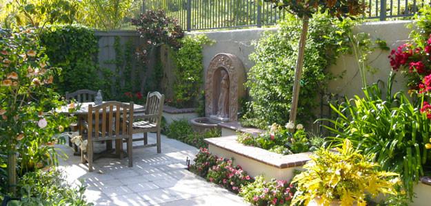 Mediterranean garden design for Mediterranean garden design