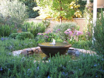 mediterranean gardens mediterranean landscape - Mediterranean Garden
