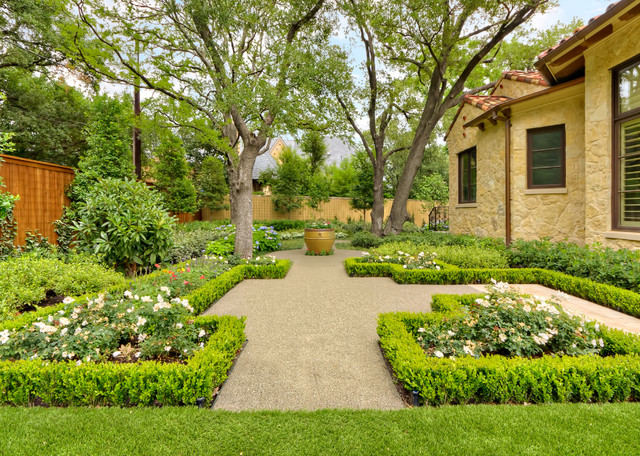 Private residence mediterranean tuscan mediterranean for Dallas landscape design
