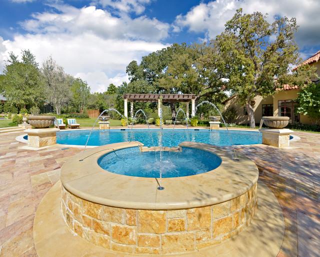 Private Residence - Mediterranean Style Estate mediterranean-landscape