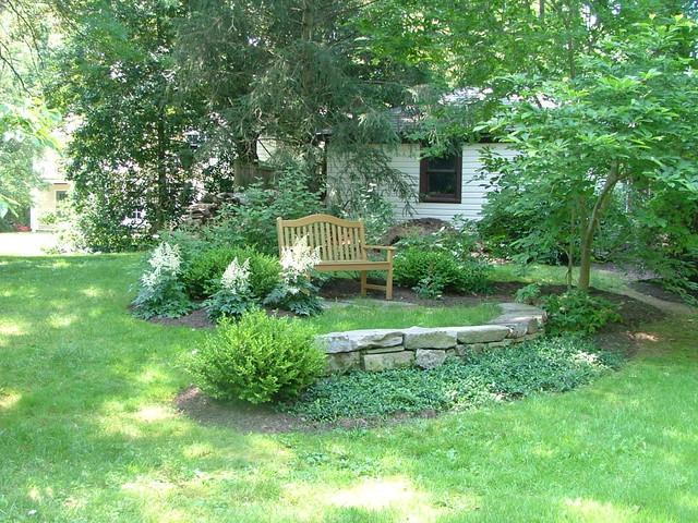 Memorial Bench - Rustic - Garden - New York - by Wi-Design ...