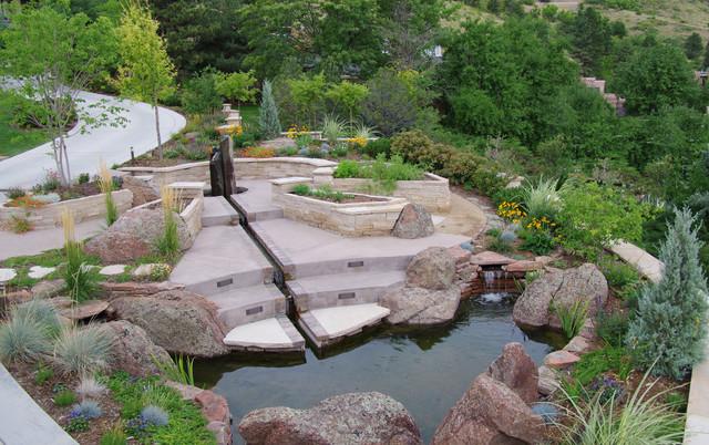 Memorial Garden Contemporary Landscape Denver By