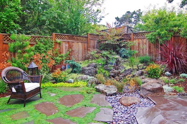 Menlo park residence clca award winner best landscape for New home designs under 150k