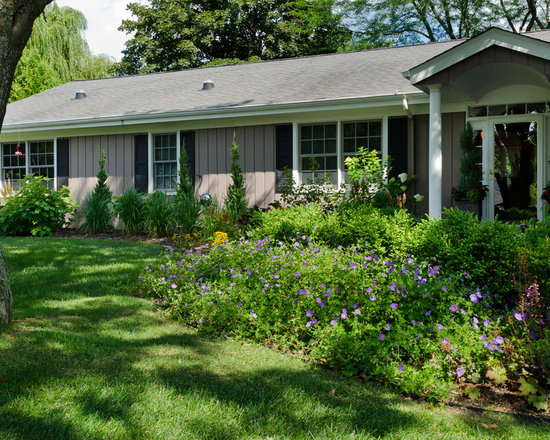 Shrubs Front Of House Design Ideas Pictures Remodel And