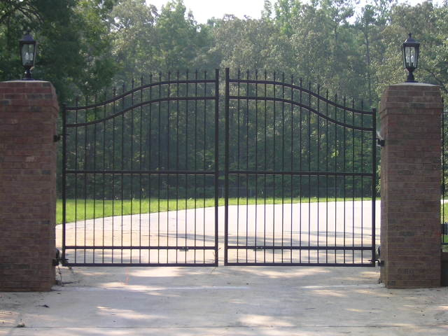 Landscape lighting birmingham al : Metal gate in birmingham alabama