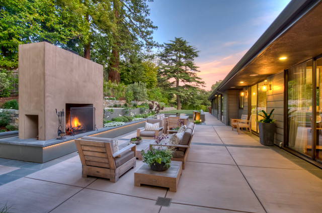 Mid Century Modern Homes Landscaping mid-century modern - modern - landscape - san francisco -david