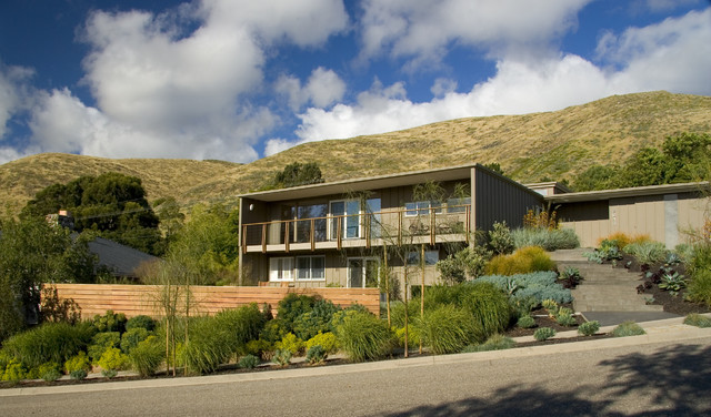 Mid Century Modern Homes Landscaping mid century modern - midcentury - landscape - san luis obispo -
