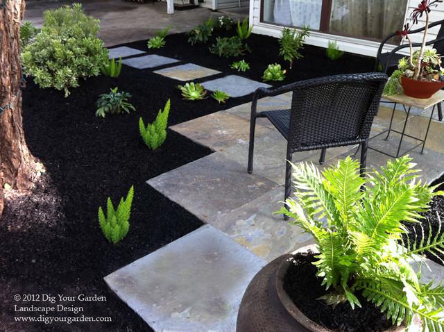 Mid Century Modern Landscape Transformation Midcentury