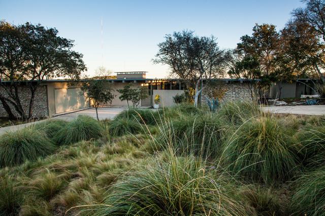 Mid Century Modern Now Midcentury Landscape Austin