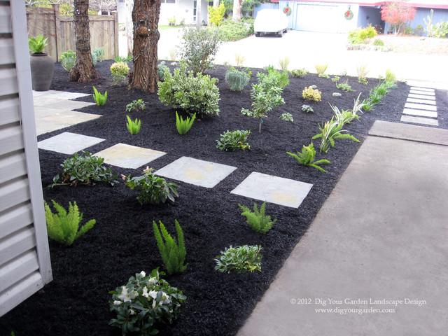 MidCentury Modern Landscape Transformation On A Budget - Midcentury ...