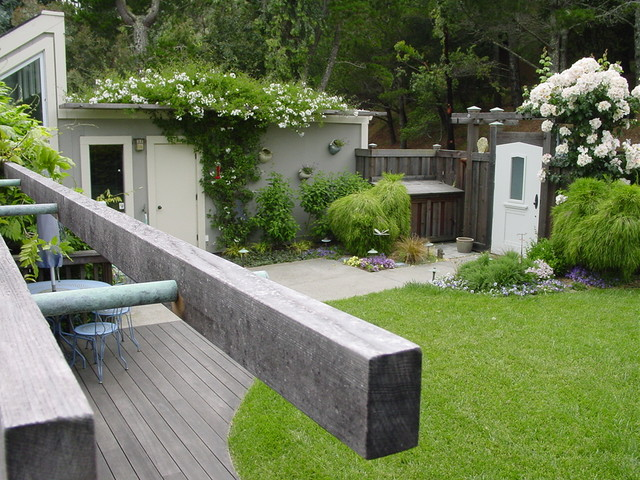 Mill Valley Exterior Remodel & Addition contemporary-landscape