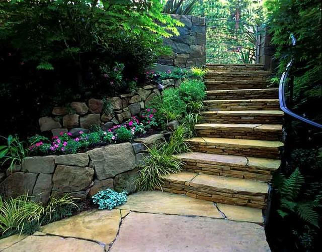 Mill valley redwood garden traditional landscape san for Garden design mill valley