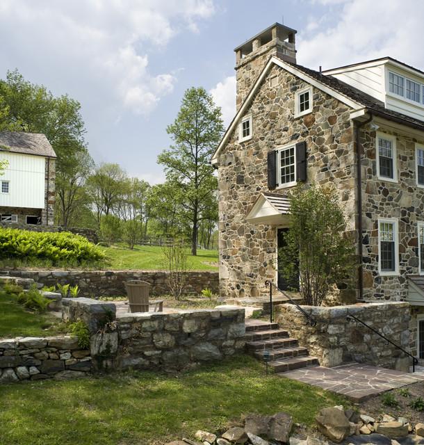 Mine road farm exterior farmhouse landscape for Home architecture ltd