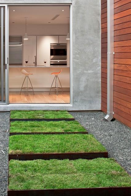 Minimal Landscape Design Modern Landscape