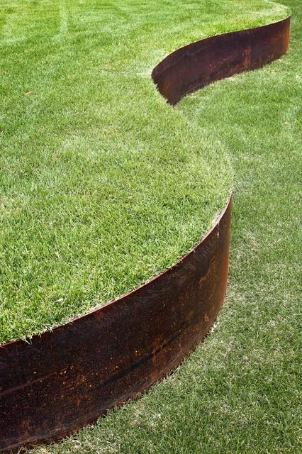 Landscape Edging Houston : Minimal landscape design modern houston by exterior