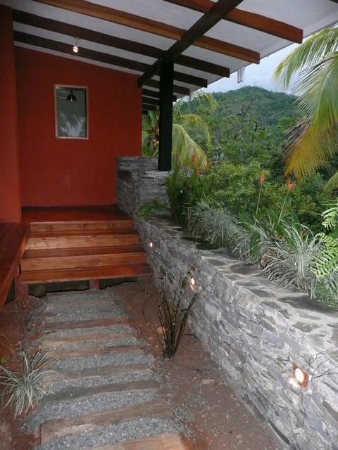 Miramar Bungalow Tropical Landscape Other by Fivedot