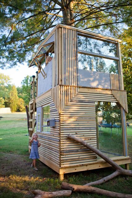Mod Tree House Modern Landscape Nashville by Bjon Pankratz