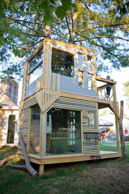 Mod Tree House contemporary-kids
