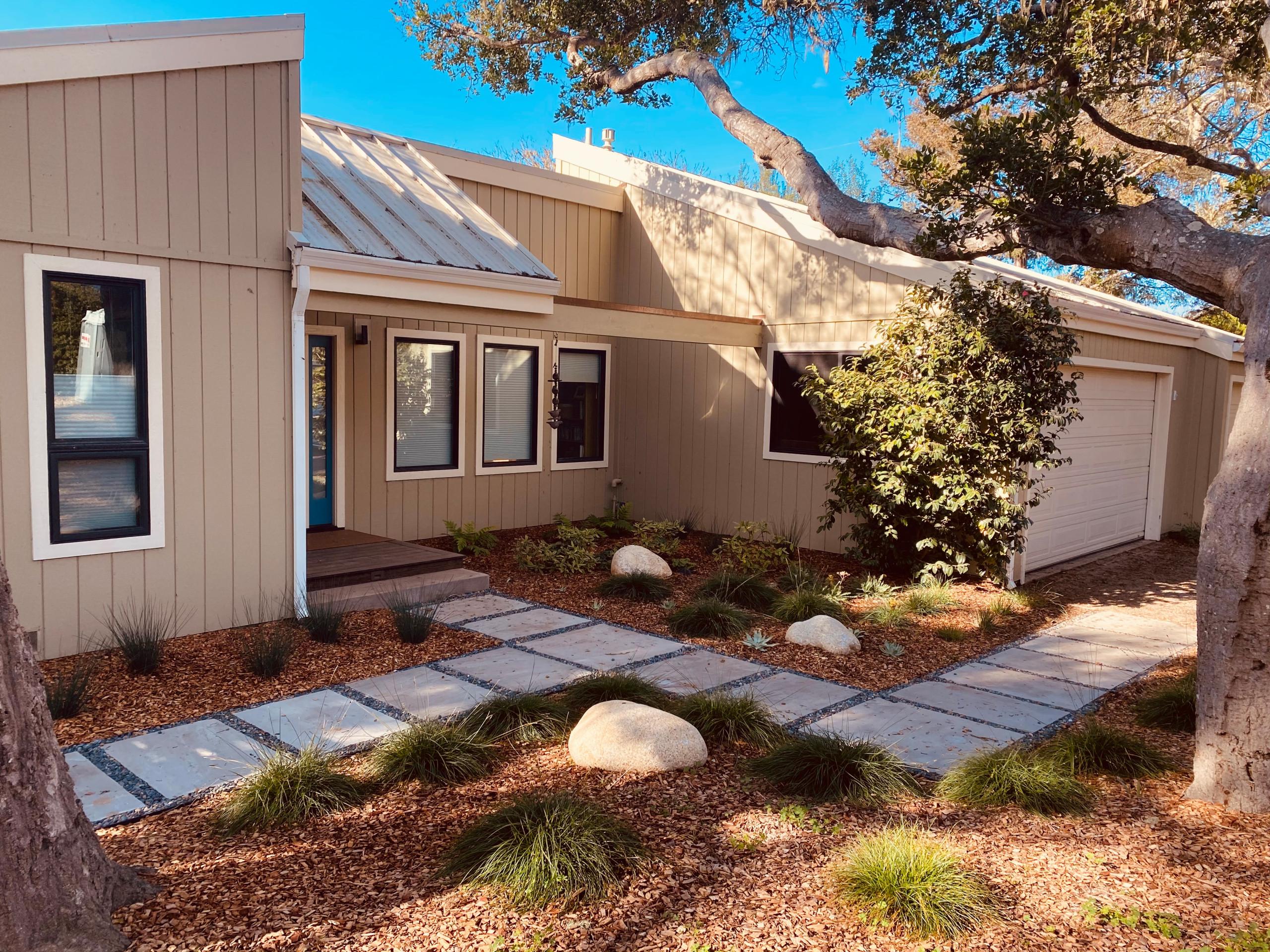 Modern California Native Garden