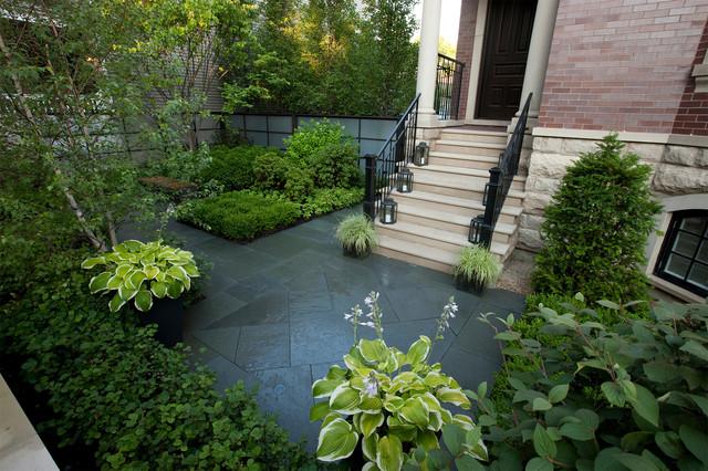Modern courtyard modern chicago by hoerr schaudt for Hoerr schaudt landscape architects