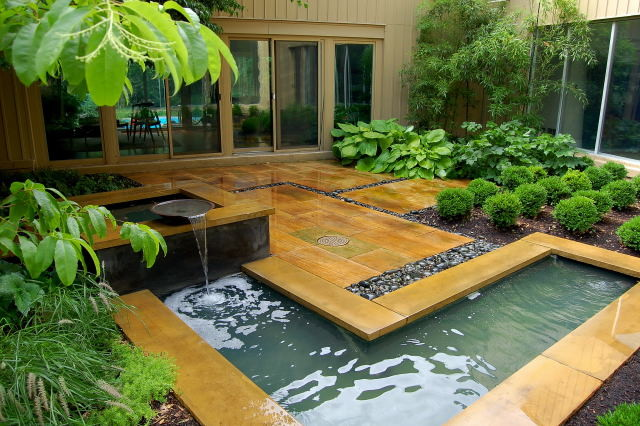 landscape modern garden design - photo #44