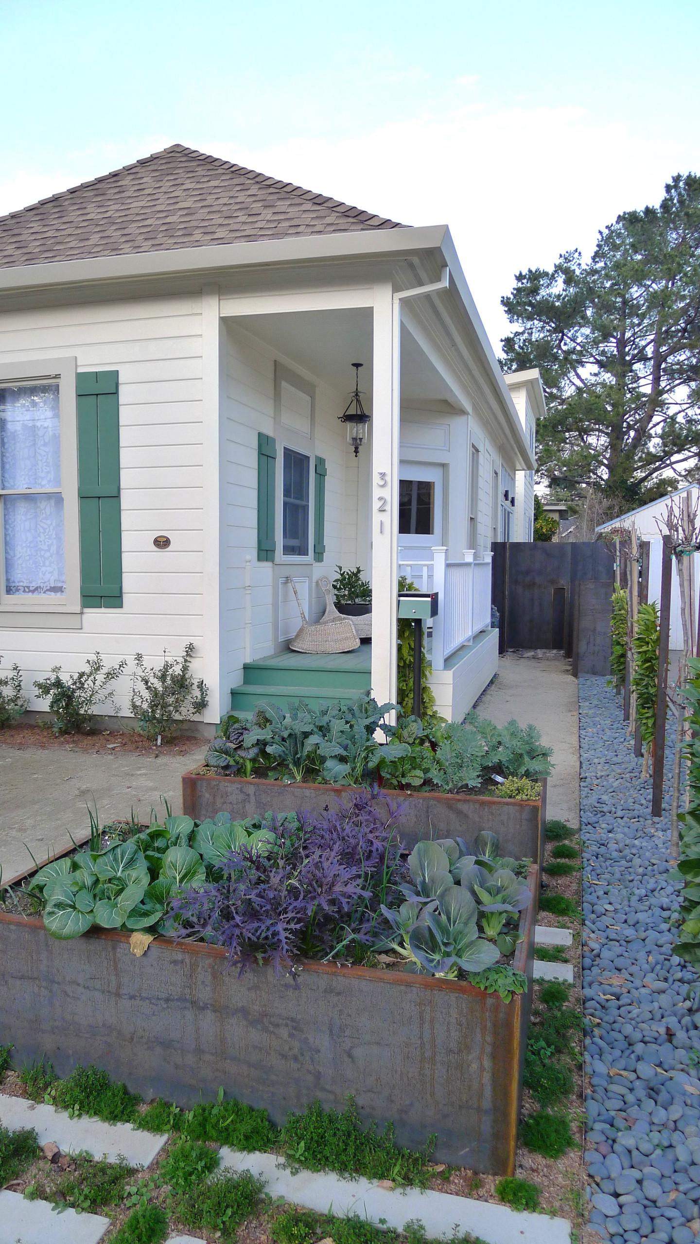 Raised Planter Boxes Front Yard Ideas Photos Houzz