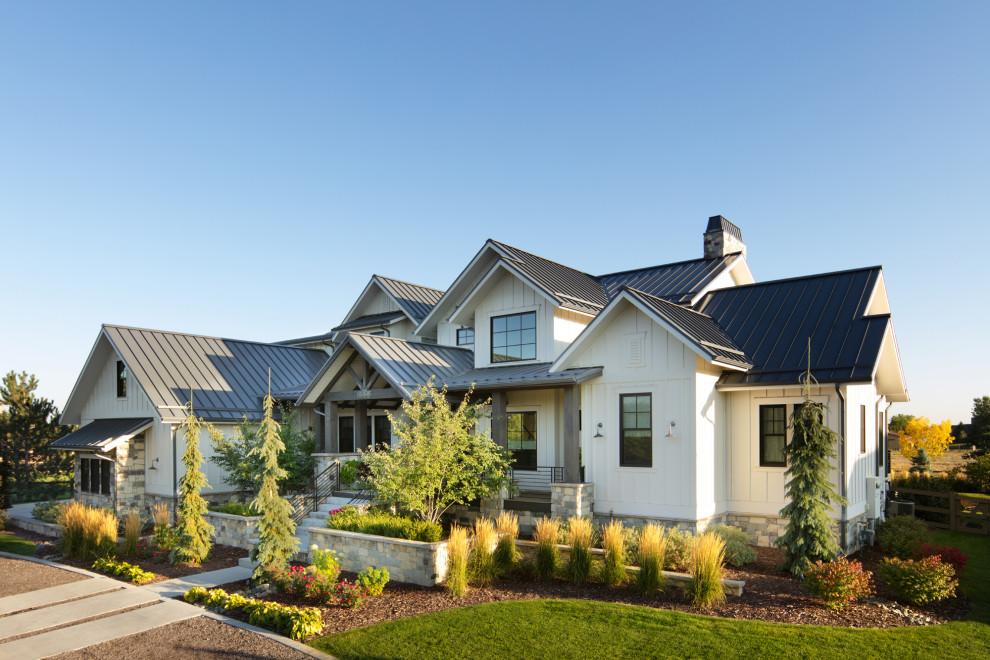 Modern Farmhouse Landscape