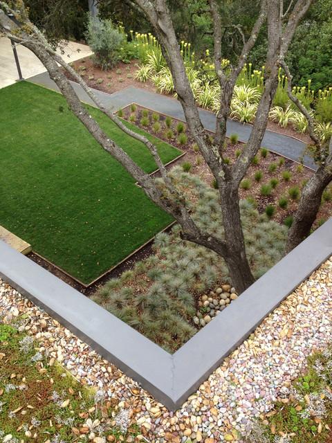 Modern Garden Green Roof