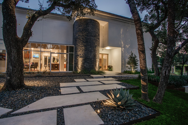 Modern Lake Retreat   Luxury Landscaping And Outdoor Living   Fort Worth,  TX   Modern   Landscape   Dallas   By One Specialty Landscape Design, ...