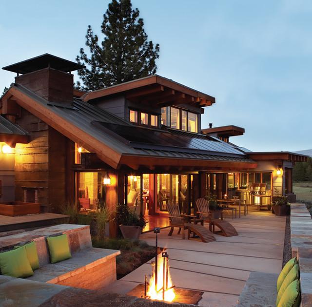 Sunset Idea House modern-landscape