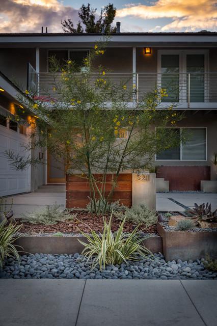 Modern Long Beach Drought Tolerant Design