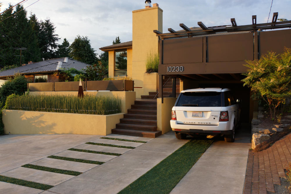 Complete the Look of Your House with Concrete Driveways
