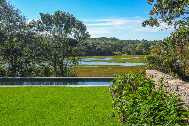 Marsh View Cape Cod Residence traditional-landscape