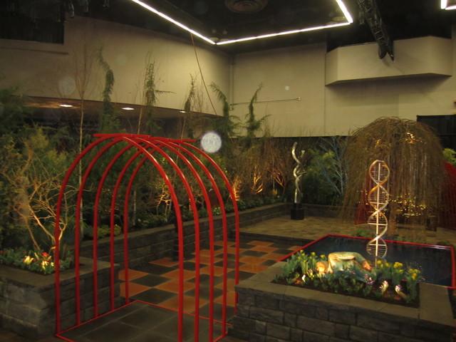 Modern outdoor room/ Garden/Yard/ contemporary-landscape