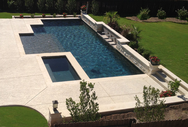 Modern Pool contemporary-landscape