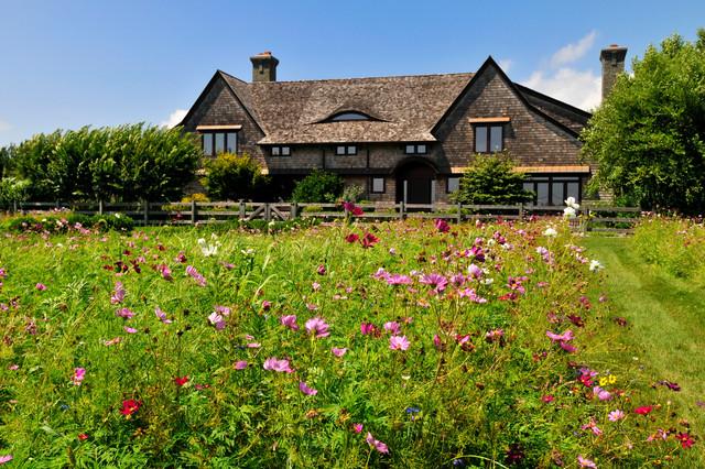 Marvelous Modern Rustic Sagaponack Victorian Landscape Pictures