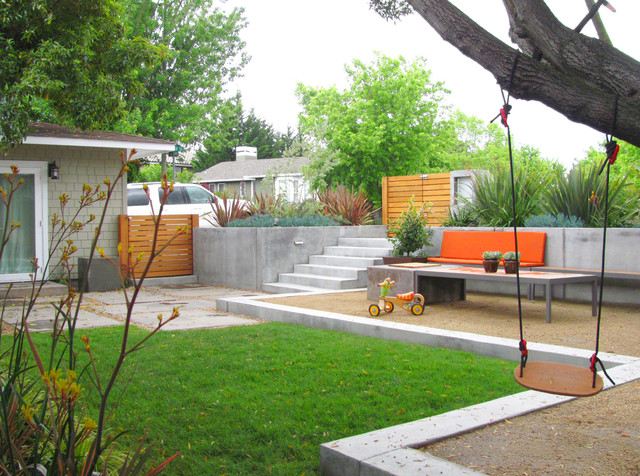 Modern transformation contemporary landscape san for Outdoor spaces landscaping