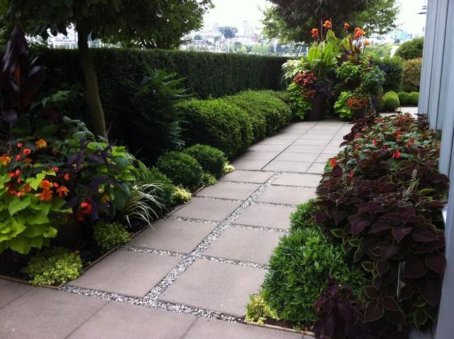 Modern Tropical Garden 2013 - Tropical - Landscape - vancouver - by Glenna Partridge Garden Design