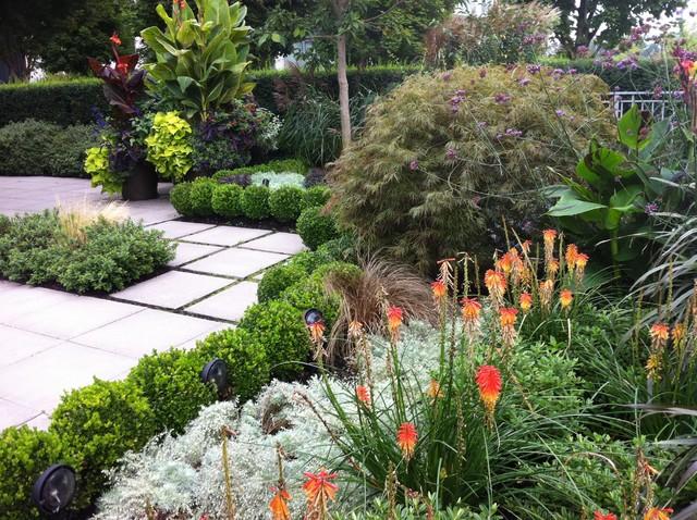 Modern Tropical Tropical Garden Vancouver By