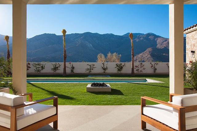 Modern villa monte soreno palm springs ca contemporary for Palm springs landscape design