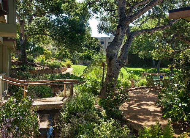 Montecito Modern Ranch - Traditional - Landscape - santa ...