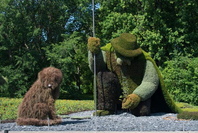 Montreal Botanical Garden, Montreal Garden Sculpture