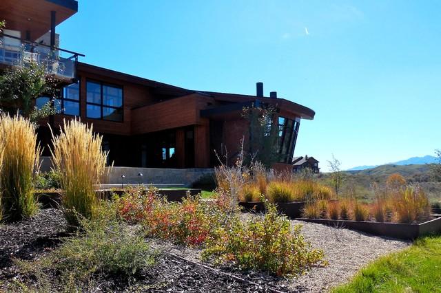 Mountain modern contemporary landscape salt lake for Mountain designs garden city