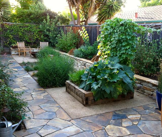 Mountain view contemporary landscape san francisco by curtis horticulture inc - Mountain garden landscaping ideas ...